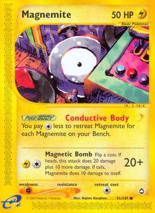 Magnemite (AQP 91)