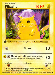 Pikachu (BS 58)