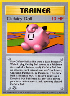 Clefairy Doll (BS 70)