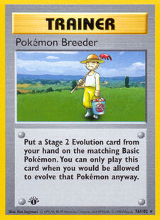 Pokémon Breeder (BS 76)