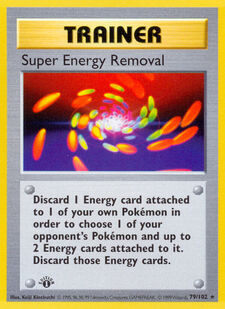 Super Energy Removal (BS 79)