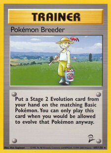 Pokémon Breeder (BS2 105)