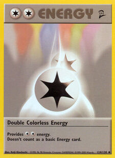Double Colorless Energy (BS2 124)