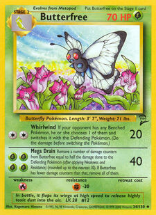 Butterfree (BS2 34)