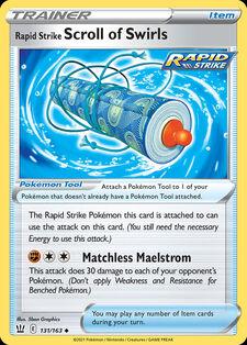 Rapid Strike Scroll of Swirls (BST 131)