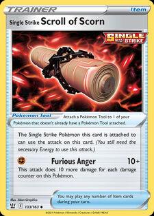Single Strike Scroll of Scorn (BST 133)
