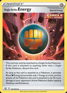 Single Strike Energy (BST 141)
