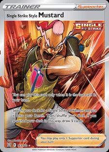 Single Strike Style Mustard (BST 163)
