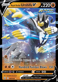 Rapid Strike Urshifu V (BST 87)