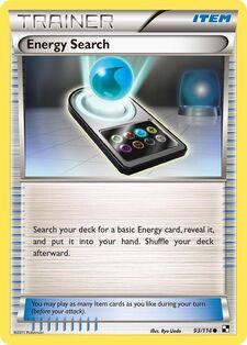 Energy Search (BLW 93)