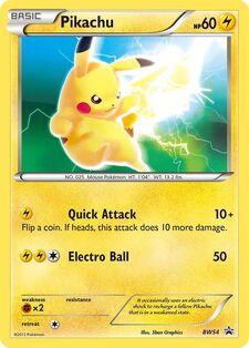 Pikachu (BLWP BW54)