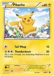 Pikachu (BLWP BW77)