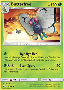 Butterfree (BUS 3)