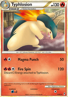 Typhlosion (CL 35)