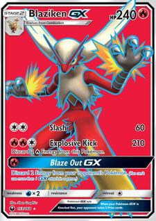 Blaziken-GX (CLS 153)