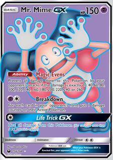Mr. Mime-GX (CLS 156)