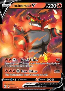 Incineroar V (CPA 8)