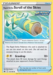 Rapid Strike Scroll of the Skies (CRE 151)