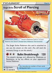Single Strike Scroll of Piercing (CRE 154)