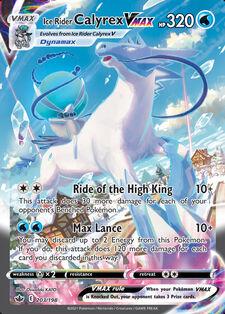 Ice Rider Calyrex VMAX (CRE 203)