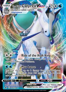 Ice Rider Calyrex VMAX (CRE 46)