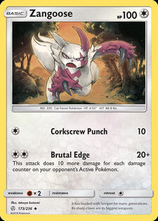 Zangoose (CEC 173)