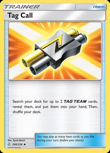 Tag Call (CEC 206)
