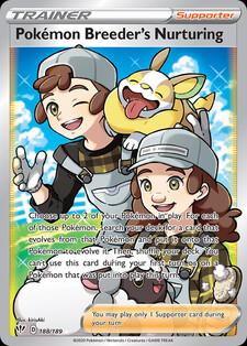 Pokémon Breeder's Nurturing (DAA 188)
