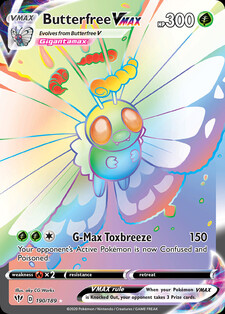 Butterfree VMAX (DAA 190)
