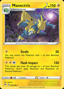Manectric (DAA 59)