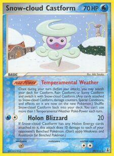 Snow-cloud Castform (DS 29)