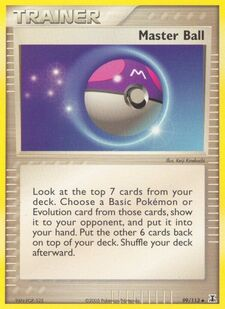 Master Ball (DS 99)