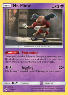 Mr. Mime (DET 11)