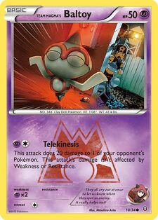 Team Magma's Baltoy (DCR 10)