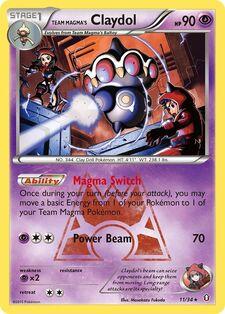 Team Magma's Claydol (DCR 11)
