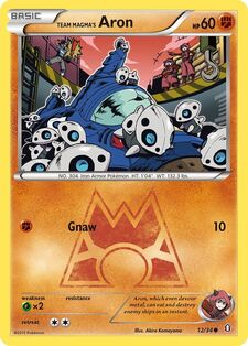 Team Magma's Aron (DCR 12)