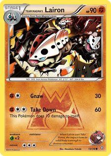 Team Magma's Lairon (DCR 13)
