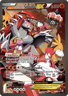 Team Magma's Groudon-EX (DCR 15)