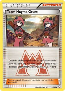 Team Magma Grunt (DCR 30)