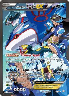 Team Aqua's Kyogre-EX (DCR 6)