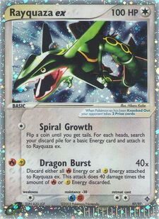 Rayquaza ex (DR 97)