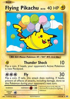 Flying Pikachu (EVO 110)