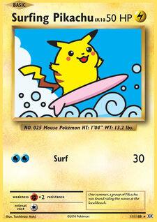 Surfing Pikachu (EVO 111)