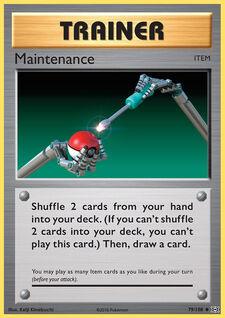 Maintenance (EVO 79)