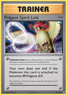 Pidgeot Spirit Link (EVO 81)