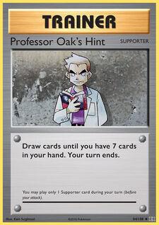Professor Oak's Hint (EVO 84)
