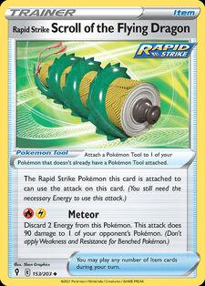 Rapid Strike Scroll of the Flying Dragon (EVS 153)