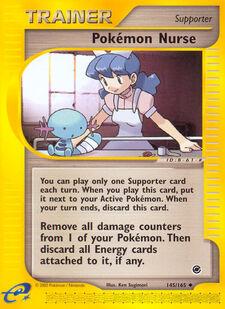 Pokémon Nurse (EXP 145)