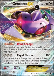Genesect-EX (FCO 64)