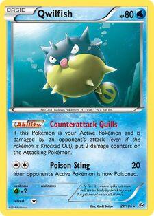 Qwilfish (FLF 21)